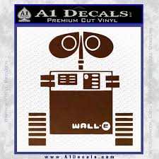 Wall E D1 Decal Sticker A1 Decals
