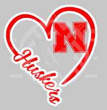 I Heart Nebraska Decal E A Vinyl Designz