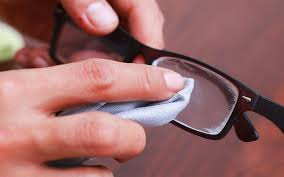 remove scratches from glasses