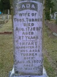 Ada Turner (1870-1897) - Find A Grave Memorial