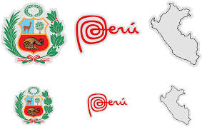 Amazon Com Hot4tshirts Peru Stickers Marca Peru Escudo Peru Map 6 Pack Computers Accessories
