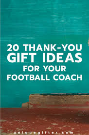 gifts for football coaches