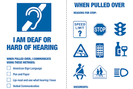 New Tool Distributed To Help Drivers Who Are Deaf Or Hard Of Hearing Communicate Better With Police City Of New York