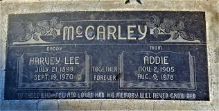 Lucy Addie Wilson McCarley/Walker (1905-1978) - Find A Grave Memorial