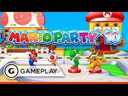 5 rounds of amiibo mode mario party