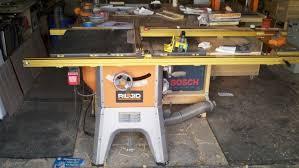 Ridgid Table Saw With 32 Inch Incra Fence Shop Stuff Wood Talk Online