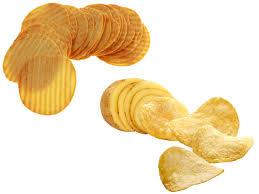 fried potato chips vs baked non fried
