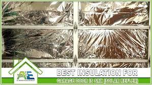 best insulation for garage walls