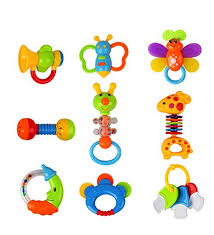 baby toys rattles teether and shakers 9