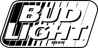 Bud Light 3 Graphic Logo Decal Customized Online