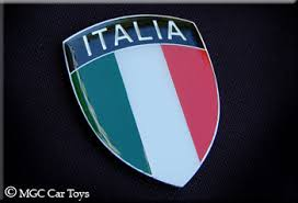 Italia Italy Real Car Auto Metal Fender Grille Emblem Badge Decal Auto