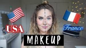 american makeup vs french saubhaya makeup