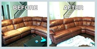 leather couch tear repair faux leather