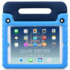 Pure Sense Buddy Antimicrobial Rugged Kids Case for iPad Air 1 -  PureSenseCases.com