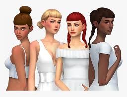 sims 4 maxis match bangs hair
