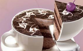chocolate cake for desktop wallpaper