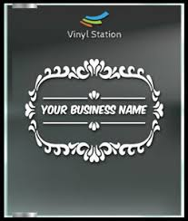 Your Custom Store Name Decal Sign Business Store Vinyl Window Decal Ebay