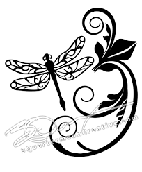 Dragonfly Sticker Dragonfly Decal Car Sticker Car Decal Vinyl Decals Dragonfly Art Dragonfly Lover