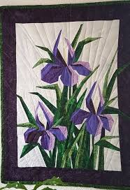 lovely irises made by esther origami