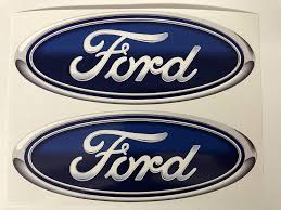 Amazon Com 2 Ford Oval Decal 3 Inch Arts Crafts Sewing