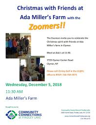 Christmas with Friends Lunch at Ada Miller's Farm — Community ...