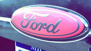 Ford F 250 350 Pink Emblem Overlay Oval Badge Vinyl Decal Sticker Custom Cover Ebay