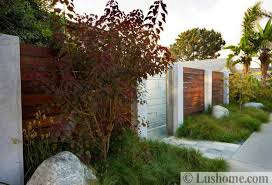 Modern Fence Design With Various Materials For Protection Privacy And Visual Appeal