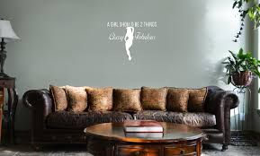 Girl Should Be Classy And Fabulous Vinyl Wall Mural Decal Home Decor Sticker