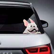 1pcs Creative 3d Car Window Stickers Funny Lovely Dog Decals Decoration Stickers Auto Products Car Accessorie Dog Decals Car Stickers Funny Car Window Stickers