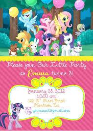 My Little Pony Birthday Invite 10 00 Via Etsy Fiesta