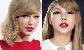 taylor swift s signature makeup look