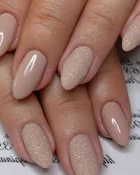 best chosen acrylic oval nails design