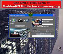 Get] Madden NFL Mobile Hack Unlimited Cash Coins 99999 Hack [iOS Android] -  video dailymotion