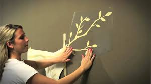 Wall Decal Tips Installing Large Wall Decals Youtube