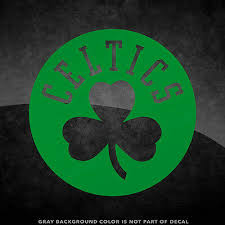 Boston Celtics Nba Logo Vinyl Decal Sticker 4 And Larger 30 Color Options Ebay