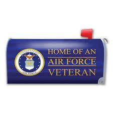 Air Force Veteran Mailbox Cover Magnet Magnet America