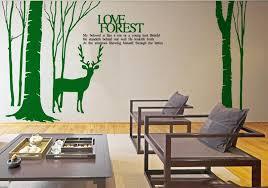 Deer Wall Decal Deer Wall Vinyl Deer Vinyl Sticker Ellaseal