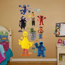 Fathead Realbig Sesame Street Wall Decal Wayfair