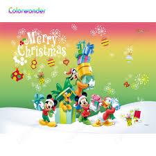 Chuột Mickey và Vịt Donald Mùa Đông Ảnh Nền Giáng sinh vui vẻ Trang Trí Nền  Cho Bé Đảng Ảnh Chuyên Nghiệp Phông Nền|Nền