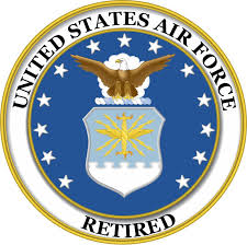 Amazon Com Magnet United States Us Air Force Retired Military Decal Military Veteran Served Car Bumper Sticker Magnetic Vinyl 3 8 Automotive