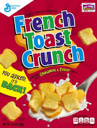general mills french toast crunch a
