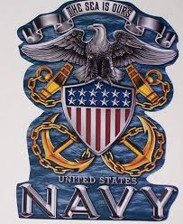 The Sea Is Ours Us Navy Decal Sticker