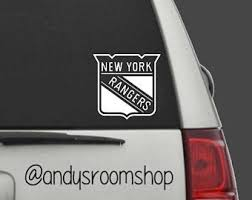 Rangers Car Decal Etsy