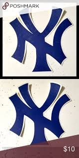 New York Yankees Vinyl Decal Sticker Vinyl Decal Stickers Vinyl Decals Ny Yankees Logo