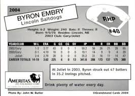 Byron Embry Gallery | Trading Card Database