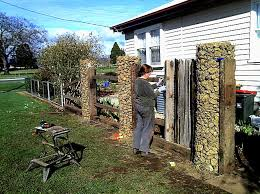 Gabions A Green Tasmanian Renovation