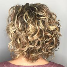65 Different Versions Of Curly Bob Hairstyle Balejaz Fryzury