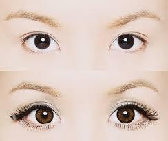 big droopy gyaru inspired eyes