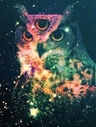owl nebula ilration graphic
