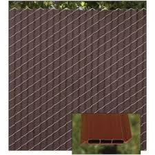 Decorative Chain Link Fence Privacy Slats Fin2000 Slats Patented Privacylink Sweets